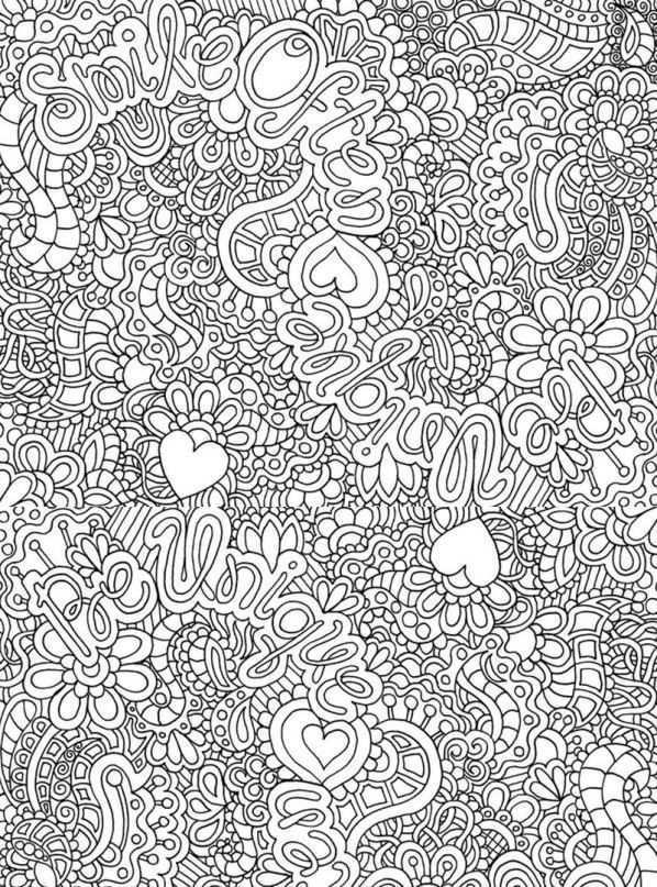 Kleurplaten Van Swirls Voor Volwassenen Kleurboek Kleurplaten Mandala Kleurplaten