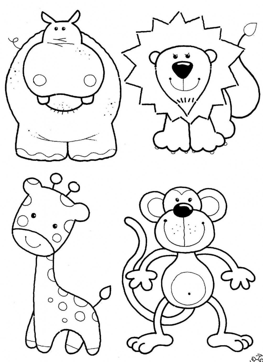Best Collection Free Coloring Pages For Kids Met Afbeeldingen Kleurplaten Dieren Kleurplaten Dieren Knutselen