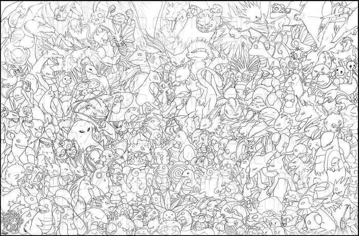 First 151 Pokemons In 2020 Pokemon Coloring Pages Pokemon Coloring Pokemon