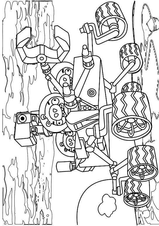 Kids N Fun Coloring Page Angry Bird Space Angry Birds Space 2 Cool Coloring Pages Coloring Pages Bird Coloring Pages