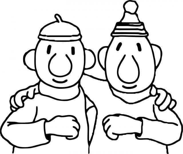 Ondanks Dat Het Klussen Niet Altijd Helemaal Goed Gaat Blijven Buurman En Buurman Altijd Beste Vrienden O Kleurplaten Voor Kinderen Kleurplaten Baby Tekening