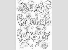 Kleurplaat Vriendinnen Bff Kleurplaten Voor Jou En Je Beste Vriendin Kleurplaten Bff Kleurplaten Voor Kinderen