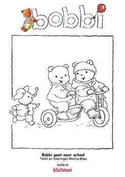 Kleurplaten Van Bobbi Deze Komt Uit Bobbi Gaat Naar School Kleurplaten Frozen Kleurplaten Kinderkleurplaten