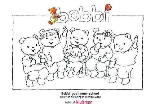 Kleurplaten Van Bobbi Deze Kleurplaat Komt Uit Bobbi Gaat Naar School Kleurplaten Frozen Kleurplaten Peuter Thema