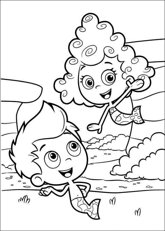 25 Coloring Pages Of Bubble Guppies On Kids N Fun Co Uk On Kids N Fun You Will Always Find The Bes Bubble Guppies Coloring Pages Bubble Guppies Coloring Pages