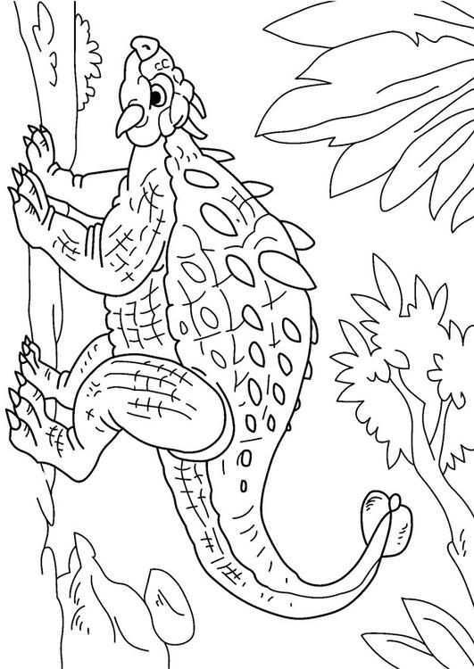 Coloring Page Dinosaur Ankylosaurus Img 27630 Images Dinosaur Coloring Pages Dinosaur Coloring Dinosaur Quilt