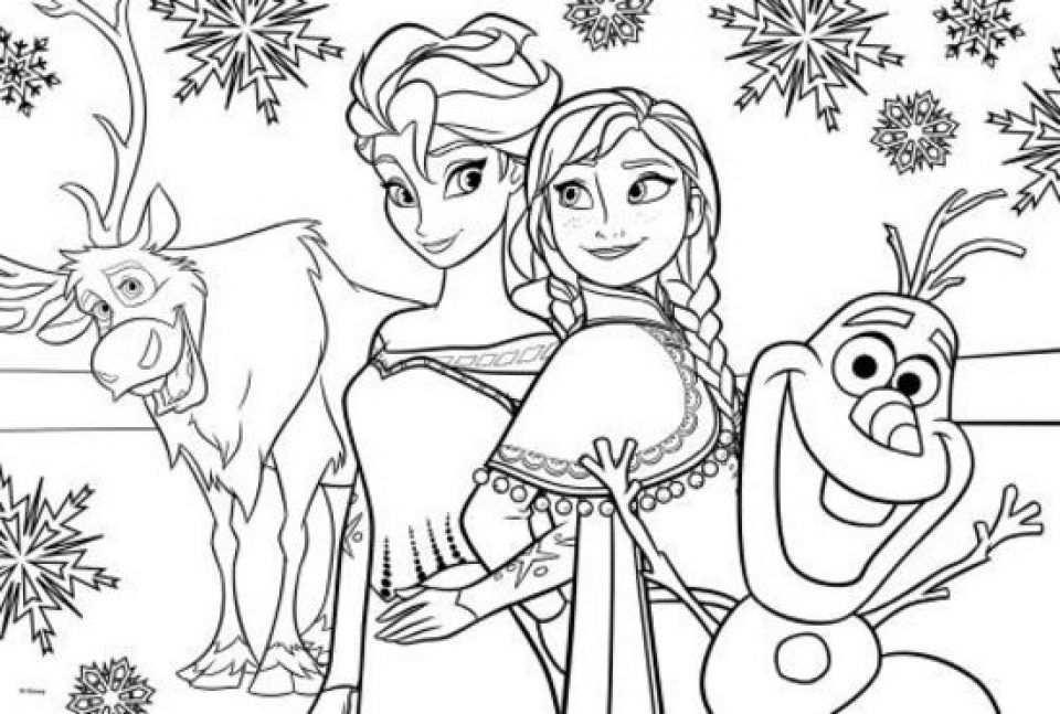 Pin Van Annamaria Szepvolgyi Op Winter Knutselen Frozen Kleurplaten Prinses Kleurplaatjes Kleurplaten
