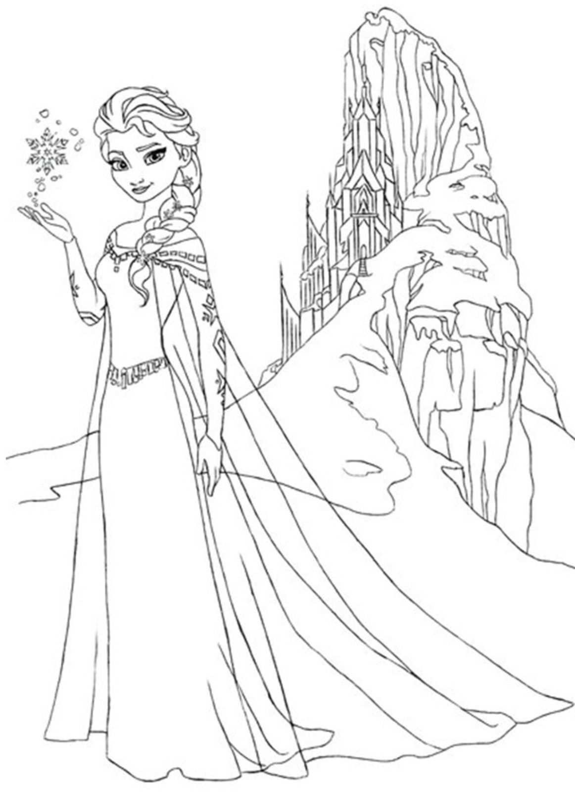 Download Frozen Coloring Page Or Print Frozen Coloring Page From Pagestocolor Net Elsa Coloring Pages Disney Princess Coloring Pages Disney Coloring Pages