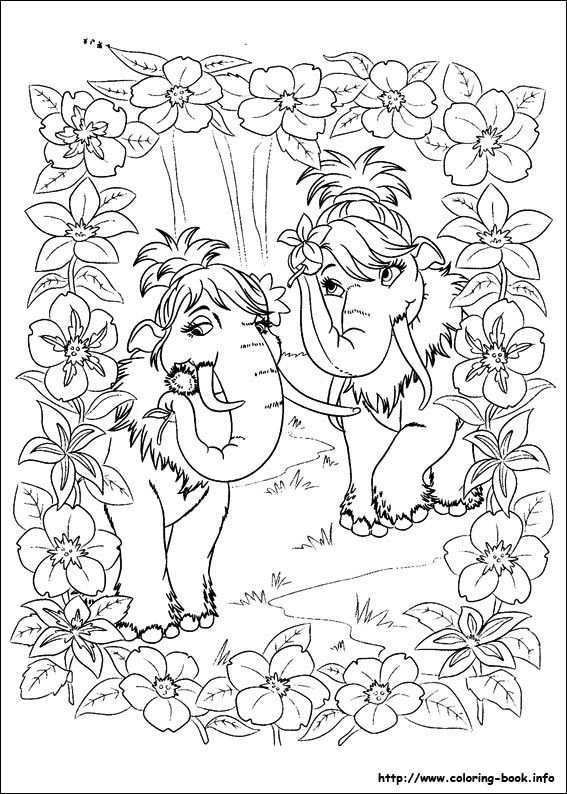 Ice Age Continental Drift Coloring Picture Coloring Pages Coloring Pictures Cartoon Coloring Pages