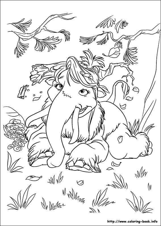Ice Age Continental Drift Coloring Picture Dieren Kleurplaten Kleurplaten Kleurplaten Voor Kinderen