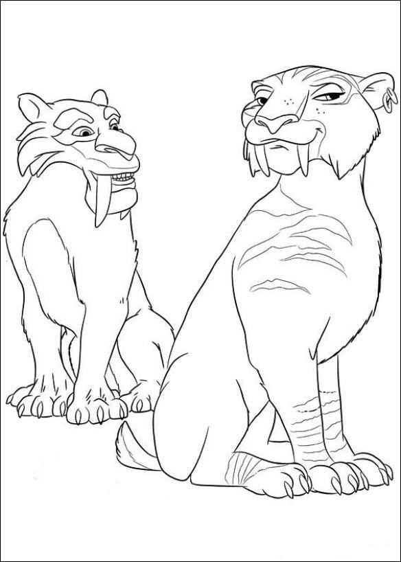 12 Coloring Pages Of Ice Age 4 Continental Drift On Kids N Fun Co Uk On Kids N Fun You Will Always Find The Bes Coloring Pictures Super Coloring Pages Ice Age