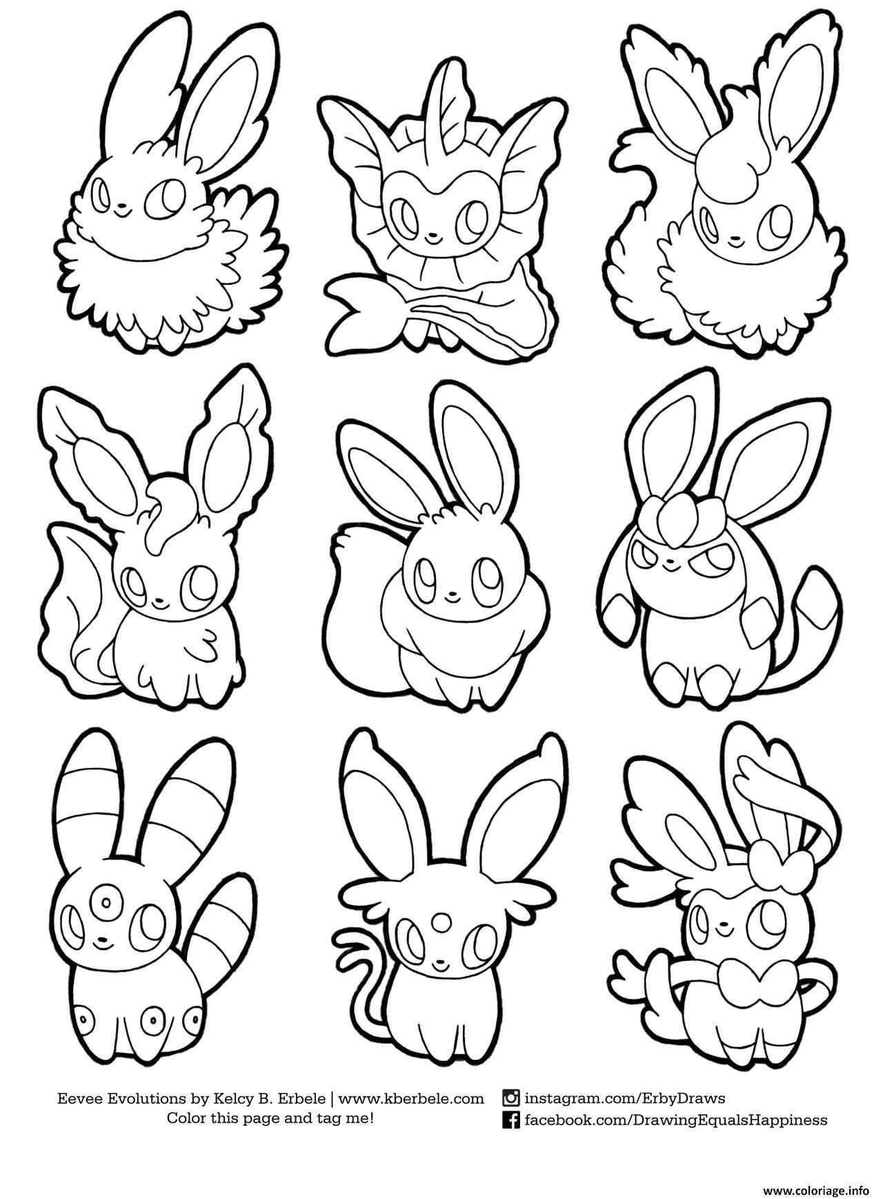 Coloring Pokemon Eevee Evolutions List Drawing Print Pokemon Ausmalbilder Pokemon Zum Ausmalen Ausmalbilder