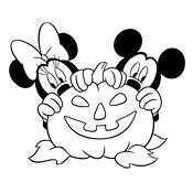 Kleurplaat Halloween 2659 Halloween Tekeningen Mickey Mouse Halloween Prinses Kleurplaatjes