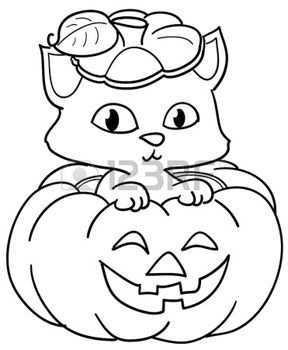 Pompoen Kleurplaat Google Zoeken Halloween Tekeningen Halloweenknutsels Kinderkleurplaten