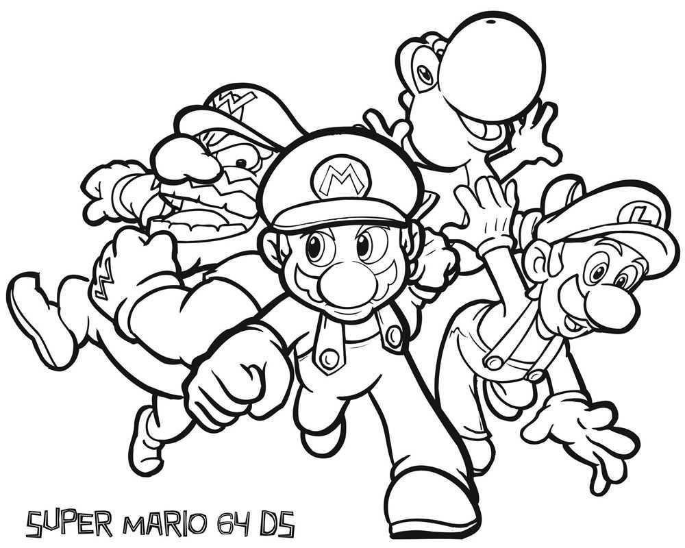 Pin Van Ashley Cummings Op Super Mario Abstracte Kleurplaten Kleurplaten Kleurboek