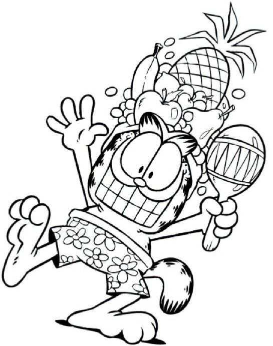Garfield Coloring Pages 12 Disney Coloring Pages Cartoon Coloring Pages Coloring Pages