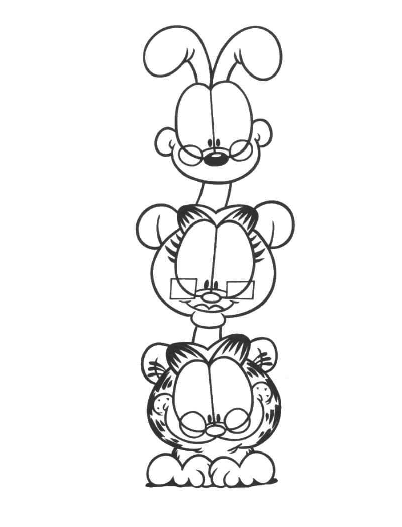 Garfield Kleurplaten 21 Kleurplaten Voor Kinderen Kleurplaten Voor Kinderen