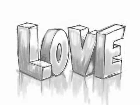 How To Draw 3d Love Graffiti Letters Youtube Always Wanted To Be A Graffiti Artist Cute Drawings Of Love Word Drawings Drawing Tutorial Easy