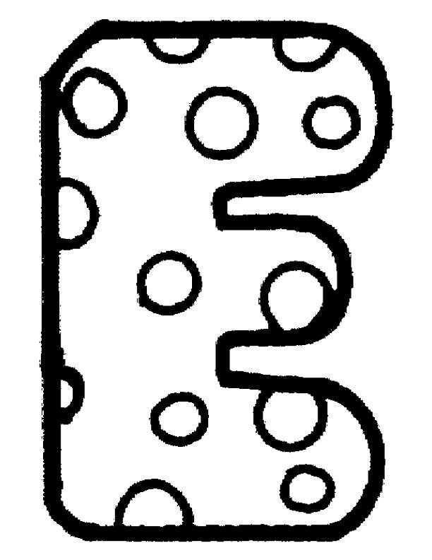 Kids N Fun Kleurplaat Alfabet E Alfabet Kleurplaten Letters Alfabet Alfabet