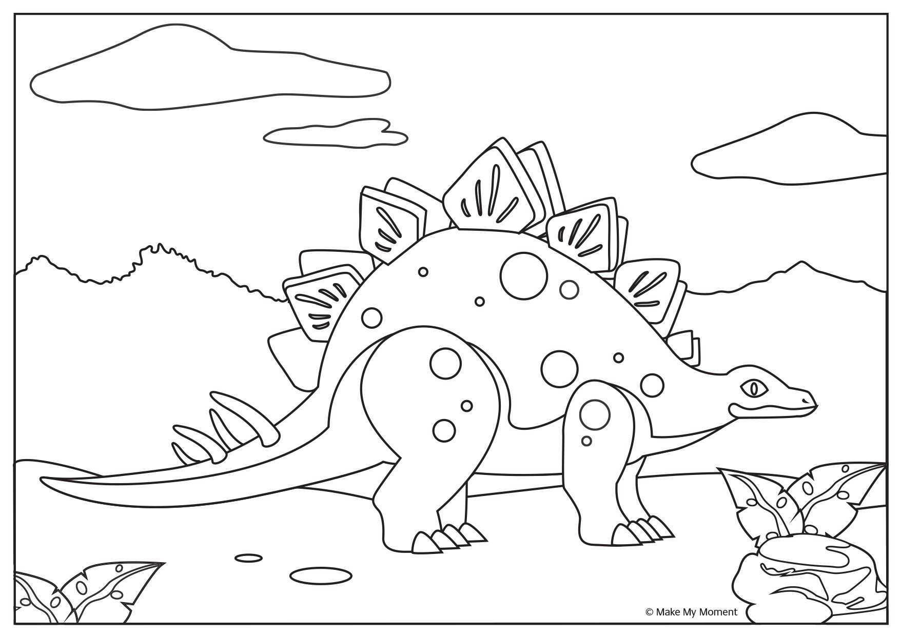 Gratis Dinosaurus Kleurplaat Te Downloaden Download Free Dinosaur Coloring Page Dinosaur Coloring Pages Dinosaur Coloring Coloring Pages