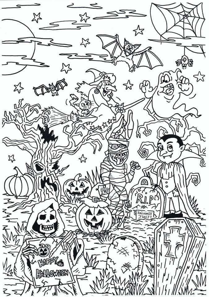 Nieuwste Kleurplaat Van Noagecolouringsuuz Halloween Halloween Coloring Sheets Halloween Coloring Pictures Halloween Coloring