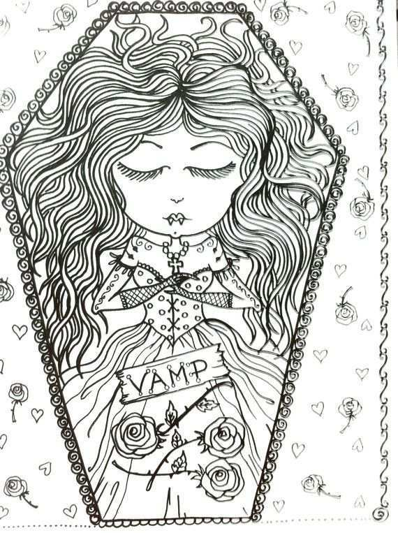 Sooo Want This Coloring Book Cool Coloring Pages Coloring Pages Halloween Coloring Pages