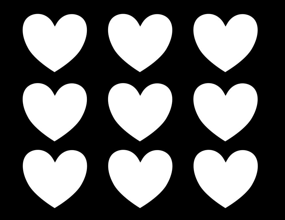 Kleurplaat Hartjes 8 Topkleurplaat Nl Knutselen Hartjes Hart Sjabloon Hartsjabloon