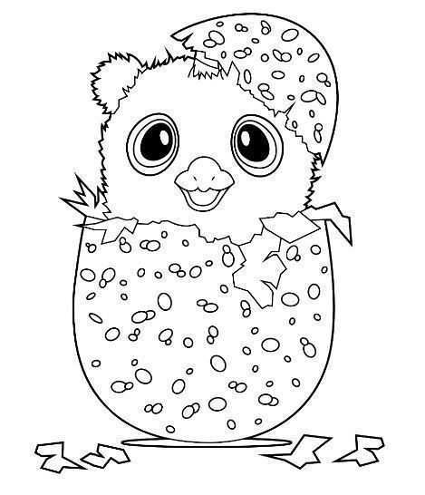 Hatchimals Coloring Page Coloring Pages For Kids Emoji Coloring Pages Penguin Coloring Pages