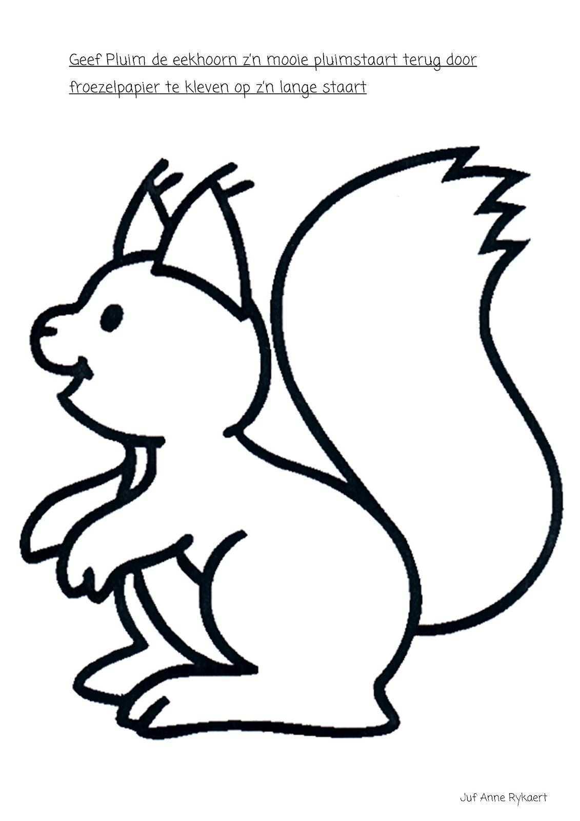Een Pluimstaart Voor De Eekhoorn Herfst Tekenen Herfst Halloween Herfst Knutselen