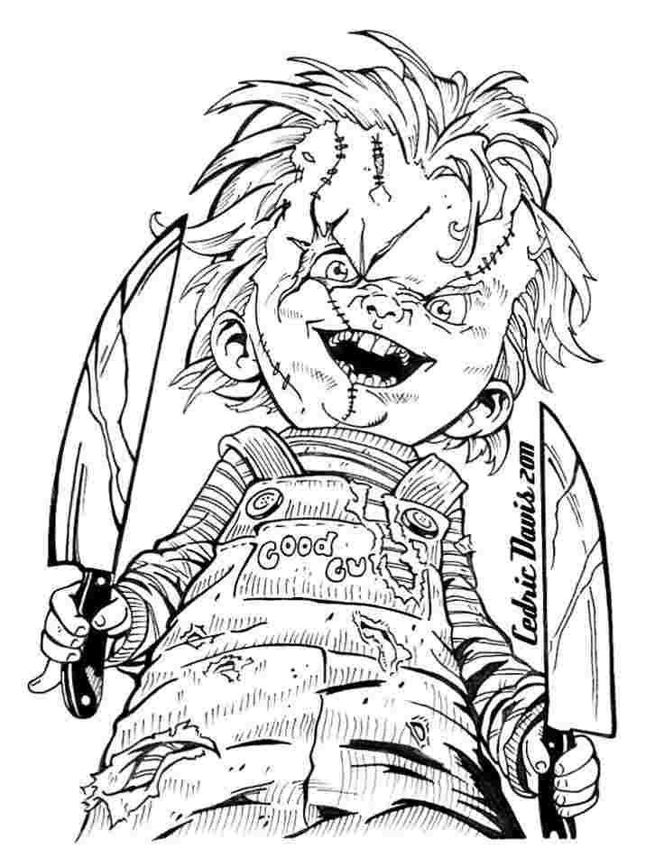 Coloring Pages Scary Scary Coloring Pages Halloween Coloring Pages Halloween Coloring