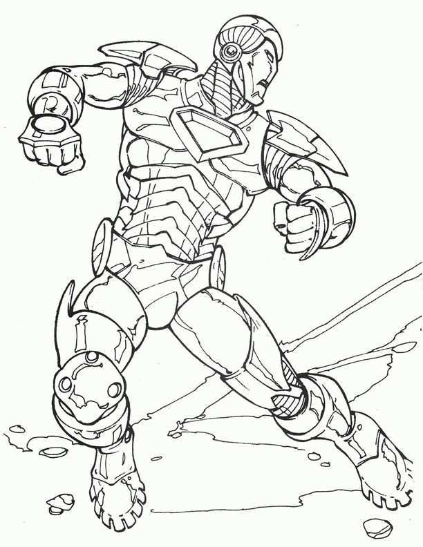 Dibujos Para Colorear Iron Man 4 Kleurplaten Voor Kinderen Gratis Kleurplaten Kleurboek