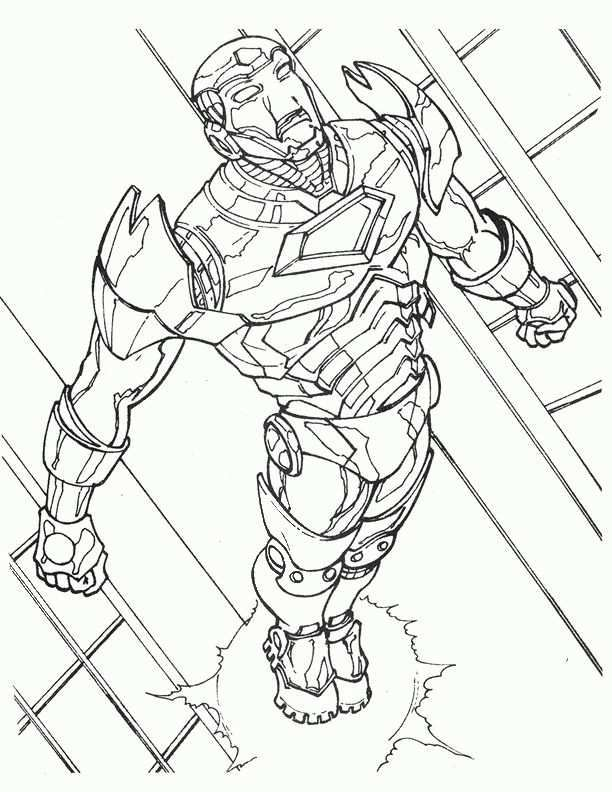 Dibujos Para Colorear Iron Man 9 Kleurplaten Voor Kinderen Kleurplaten Voor Kinderen