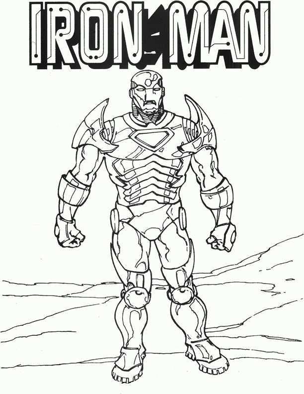 Iron Man Coloring Pages 14 Kleurplaten Voor Kinderen Voor Kinderen Kleurplaten