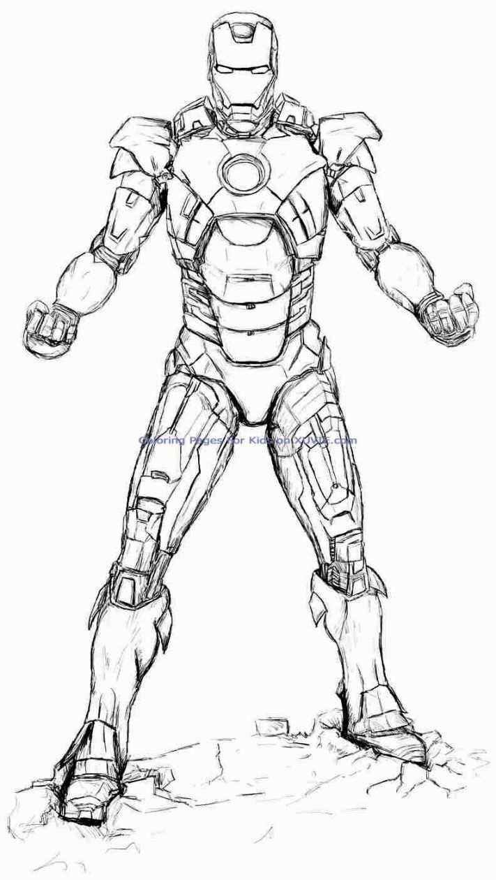 Iron Man Coloring Pages Boyama Kitaplari Cizilecek Seyler Iron Man