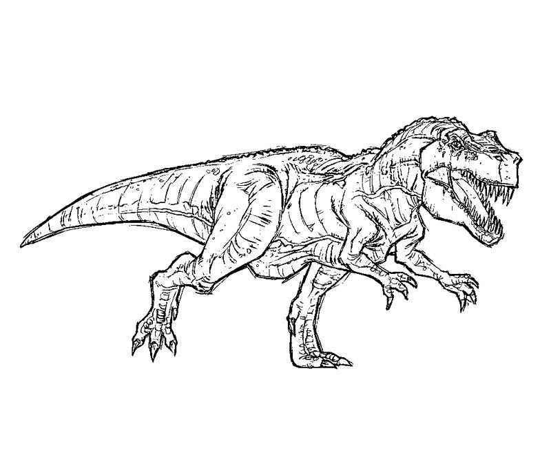 Jurassic Park T Rex Coloring Pages Jurassic Park T Rex Dinosaur Coloring Pages Coloring Pages