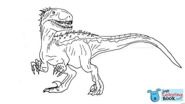 Indoraptor Coloring Pages Coloring Pages Intended For Indoraptor Coloring Pages Dinosaur Coloring Pages Coloring Pages Family Coloring Pages