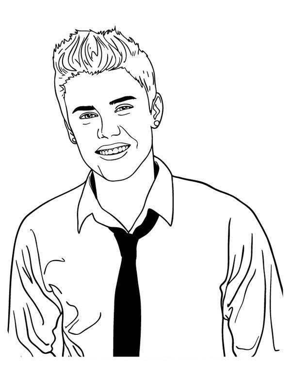 Justin Bieber Photoshoot Coloring Page Netart Justin Bieber Photoshoot Justin Bieber Coloring Pages