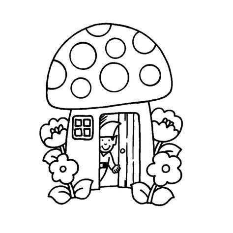 Leuk Voor Kids Een Kabouter In Zijn Huisje Herfst Knutselen Herfst Knutselen Kinderen Applique Quilts