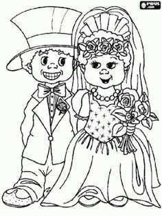 Afbeeldingsresultaat Voor Kleurplaat Opa En Oma 50 Jaar Getrouwd Knutselen Huwelijk Kleurplaten Knutselen Trouwen