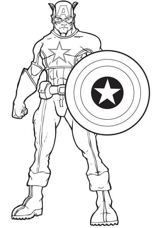 Pin By Karen Ho On Avengers Themed Avengers Coloring Pages Captain America Coloring Pages Avengers Coloring