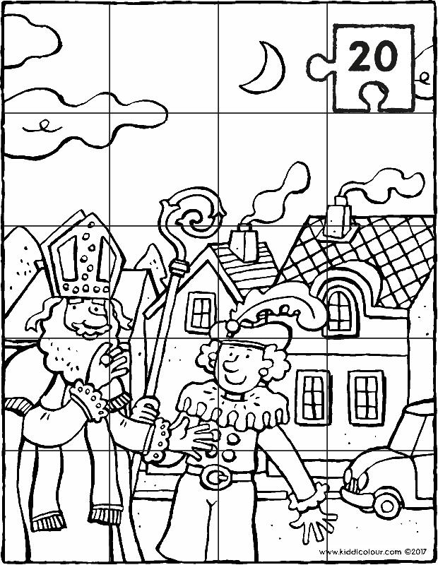 4 6 Jaar Colouring Pages Per Age Pagina 19 Van 76 Kiddicolour Sinterklaas Kleurplaten Voor Kinderen Zwarte Piet
