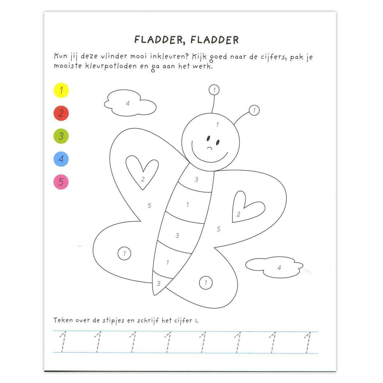 Kleuren Op Nummer Kleuren Met Nummers Kleuren Lijntekeningen