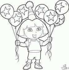 Pin Van Marie Caprice Op Wenshoek Kleurplaten Ballonnen Verjaardag