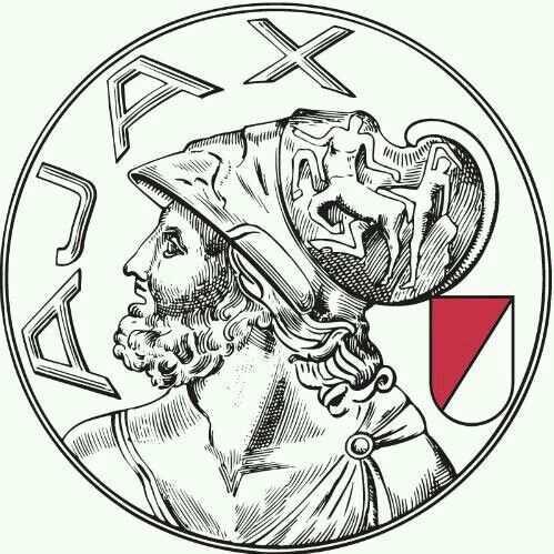 Ajax Oud Logo Veel Mooier Voetbal Tekenen Voetbal Posters Voetbal