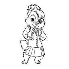 Top 25 Free Printable Alvin And The Chipmunks Coloring Pages Online Alvin And The Chipmunks Colorful Drawings Chipmunks
