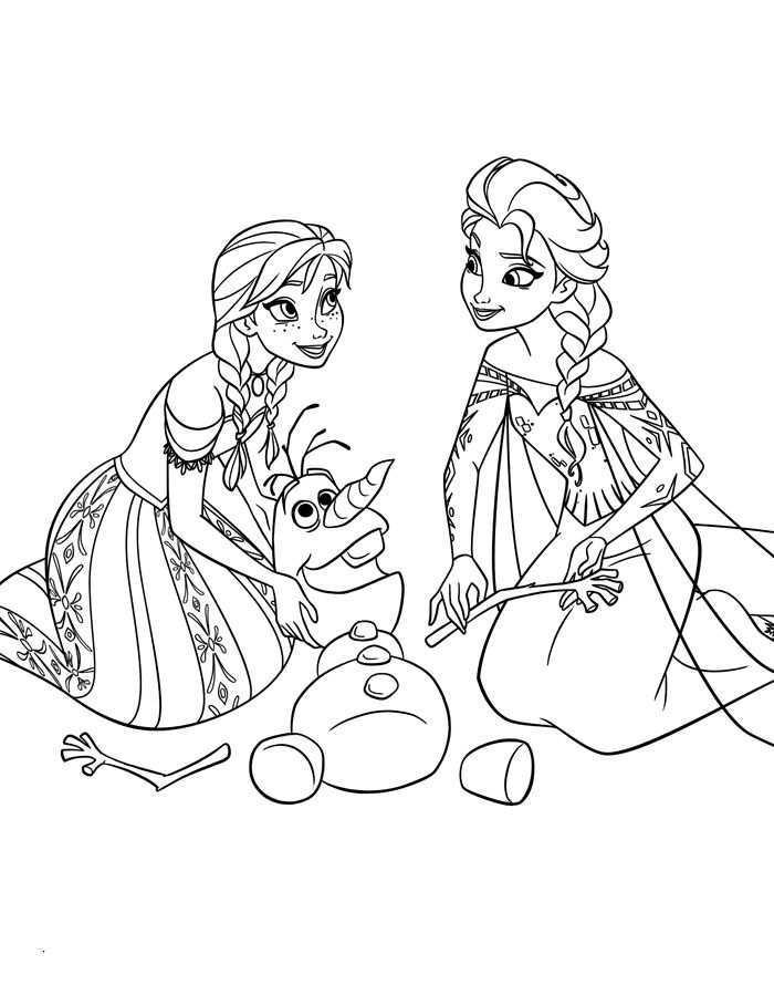 Frozen Kleurplaten Anna Elsa Olaf Frozen Kleurplaten Prinses Kleurplaatjes Kleurplaten