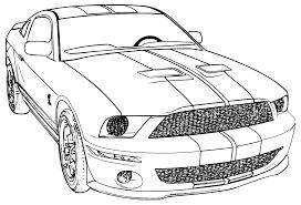 Ford Mustang Tekening Google Zoeken Kleurplaten Kleuren Pyrografie