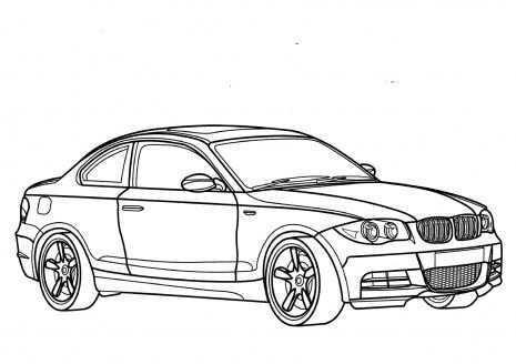 Coloring Pages For Boys Cars Bmw Cars Coloring Pages Coloring Pages For Boys Bmw 1 Series