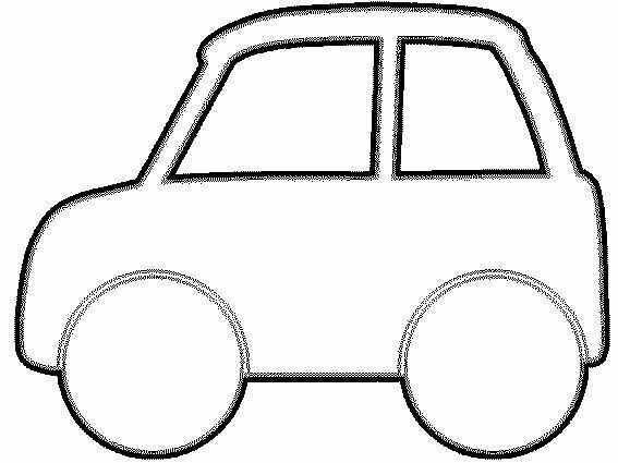 Kleurplaat Auto Vervoer Knutselen Vervoer Thema Activiteiten