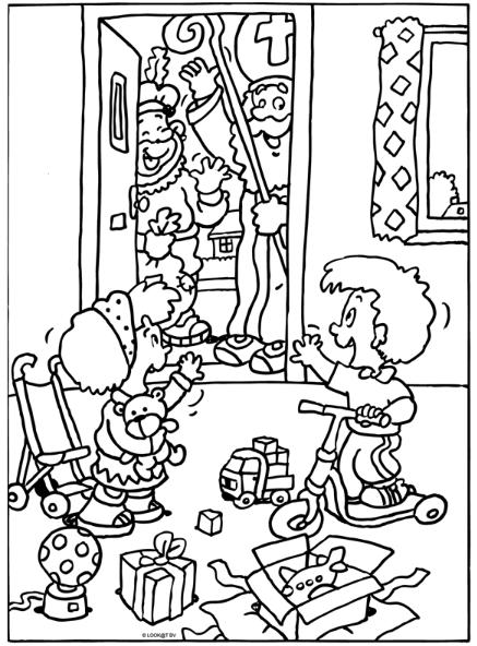 Bedankt Sinterklaas Sinterklaas Knutselen Sinterklaas Kleurplaten